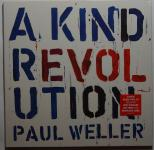 Paul Weller - A Kind Revolution LP/Download 180g vinyl w Lyric Book and Art Print in gatefold sleeve