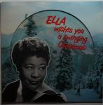 Ella Fitzgerald - Wishes you a swinging Christmas LP limited 180g picture disc w BONUS